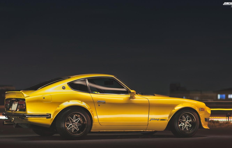 Photo wallpaper Nissan, Nissan, Car, Car, 240z, Datsun, Wallpapers, Wallpaper, Datsun