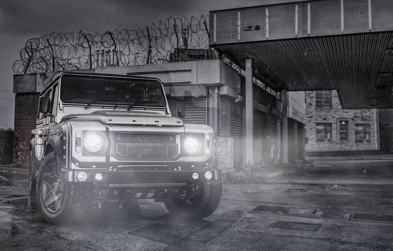 Photo wallpaper Land Rover, Car, Defender, 110, Off Road, Kahn Design