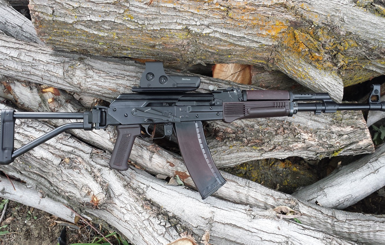 Photo wallpaper weapons, carabiner, self-loading, smoothbore, Vepr-12