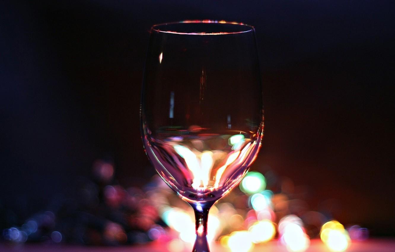Photo wallpaper lights, background, mood, holiday, Wallpaper, new year, glasses, champagne, garland, fun, magic night