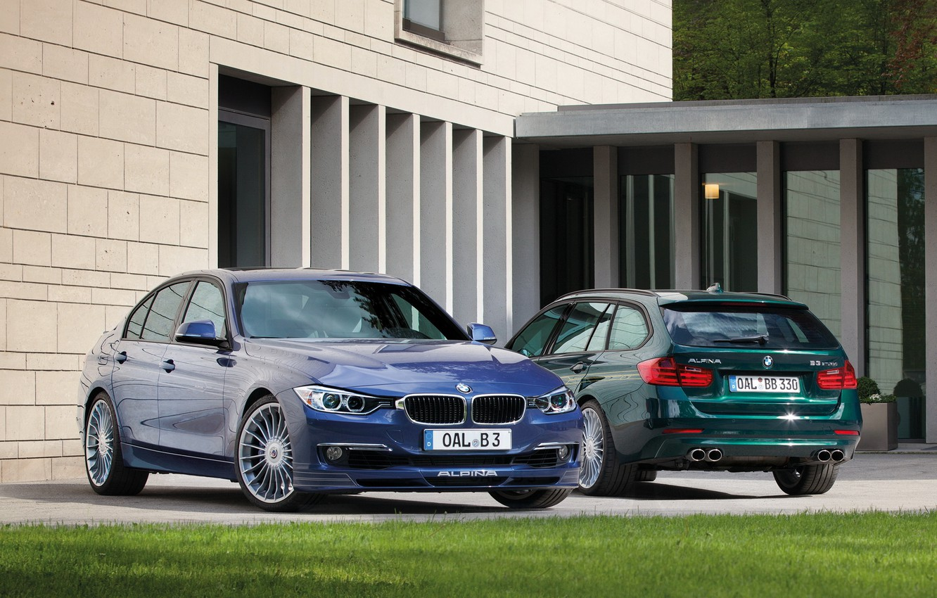 Photo wallpaper BMW, BMW, F30, 3 Series, 2013, Alpina, F31