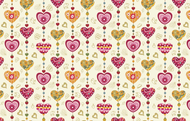 Photo wallpaper holiday, heart, vector, texture, heart, drawings, hearts, love, widescreen Wallpaper, the Wallpapers, hd Wallpapers, hd …