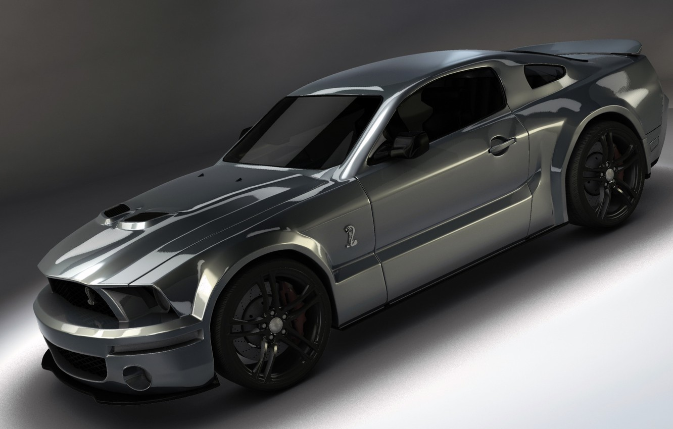 Photo wallpaper Mustang, Ford, Shelby GT500