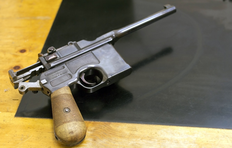 Photo wallpaper gun, weapons, C96