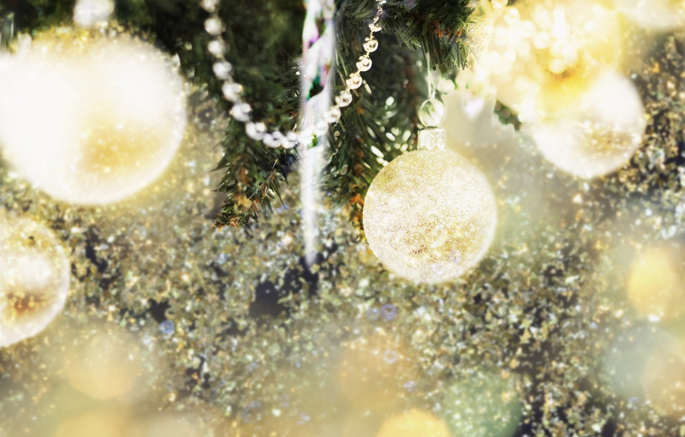 Photo wallpaper decoration, lights, background, mood, holiday, Wallpaper, toys, new year, tree, garland, fun