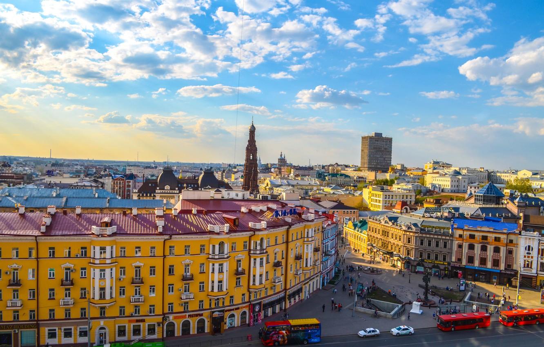 Photo wallpaper The city, Kazan, Tatarstan