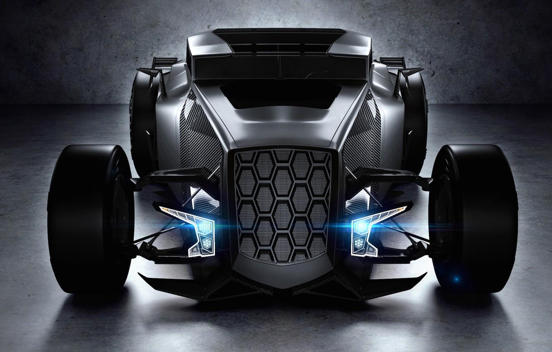 Photo wallpaper Lamborghini, concept, black, Rat, Rod