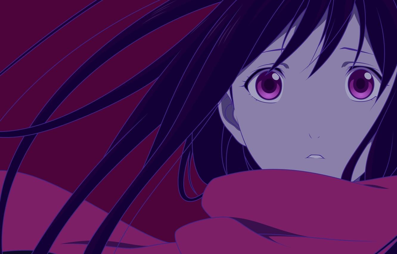 Wallpaper Kawaii, Girl, Game, Long Hair, Anime, Purple