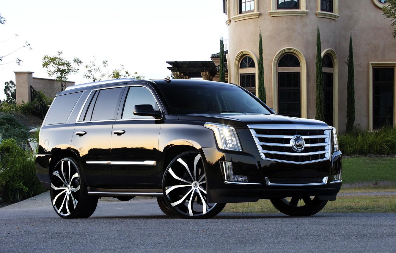 Photo wallpaper Cadillac, Tuning, Escalade, Lexani, A Cadillac