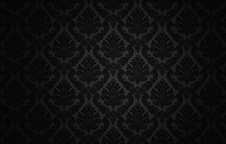 Photo wallpaper retro, pattern, vector, dark, black, ornament, vintage, texture, vintage, background, pattern, gradient