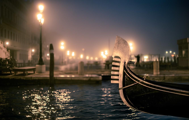 Photo wallpaper the evening, Venice, photo, photographer, gondola, Venice, Jamie Frith