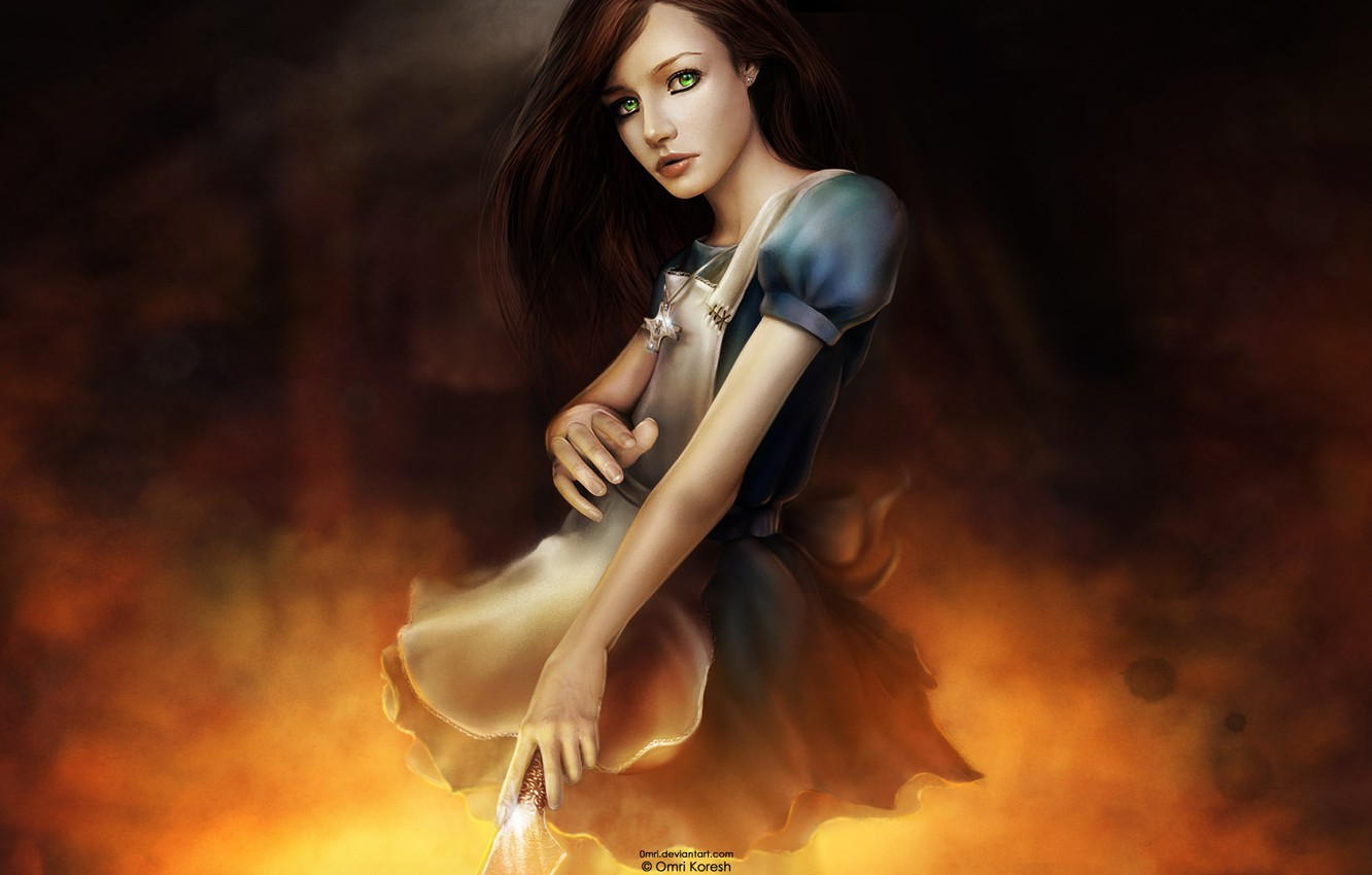 Photo wallpaper The game, Alice, Madness, Returns