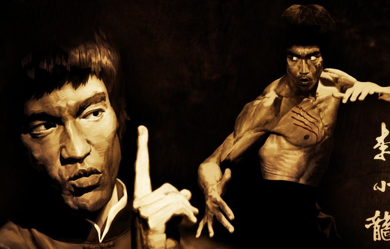 Photo wallpaper Legend, Bruce Lee, Honnoror, jeet kune do