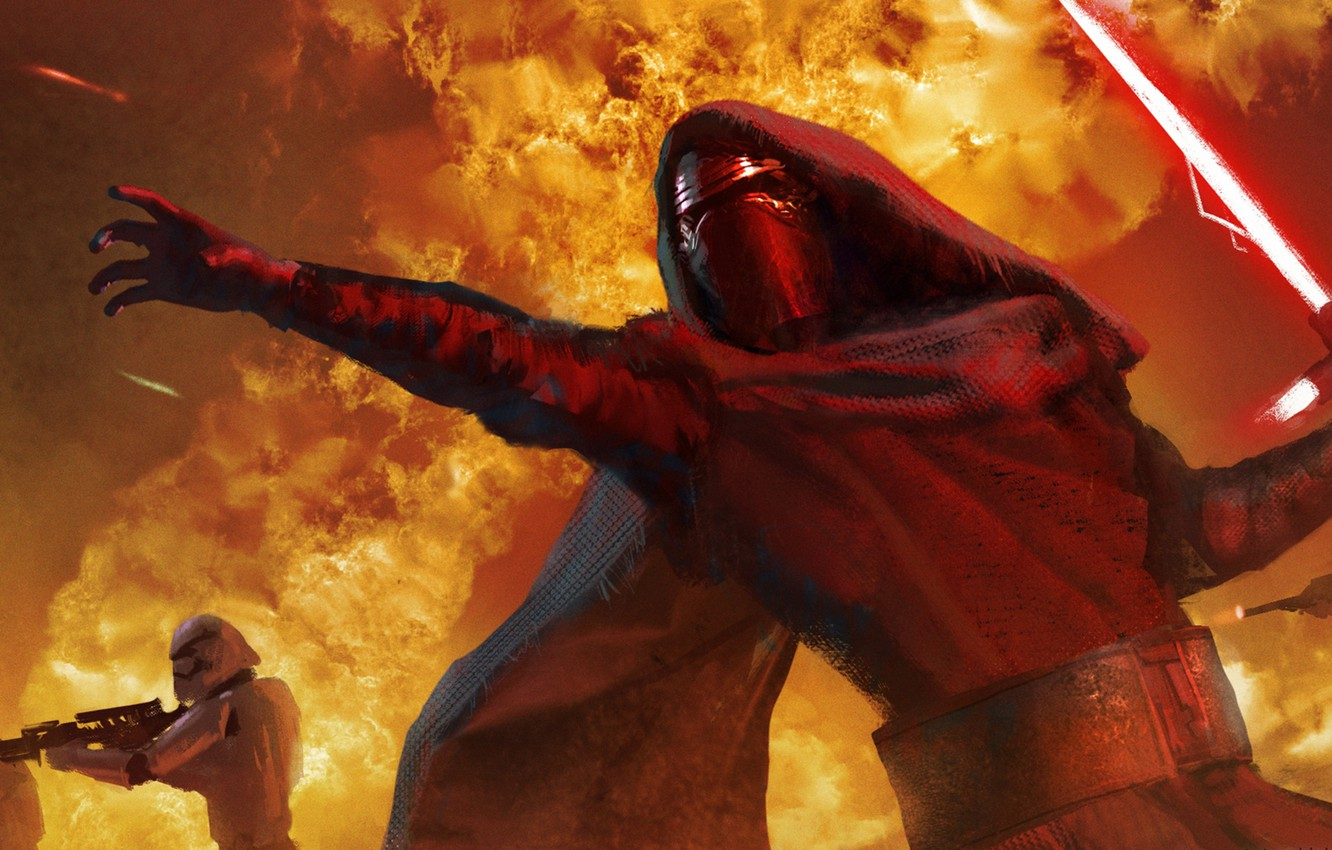 Wallpaper Star Wars Lightsaber Sith Stormtroopers Star Wars The Force Awakens Kylo Ren Images For Desktop Section Fantastika Download
