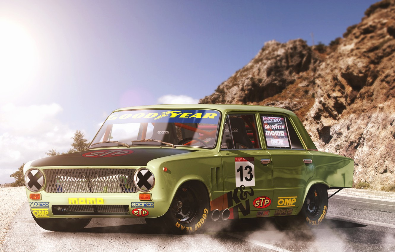 Photo wallpaper Auto, Machine, Tuning, Car, Lada, Lada, Penny, Lada, VAZ-2101