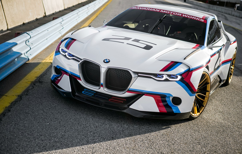 Photo wallpaper BMW, BMW, supercar, CSL, 2015, Hommage, Hommage R