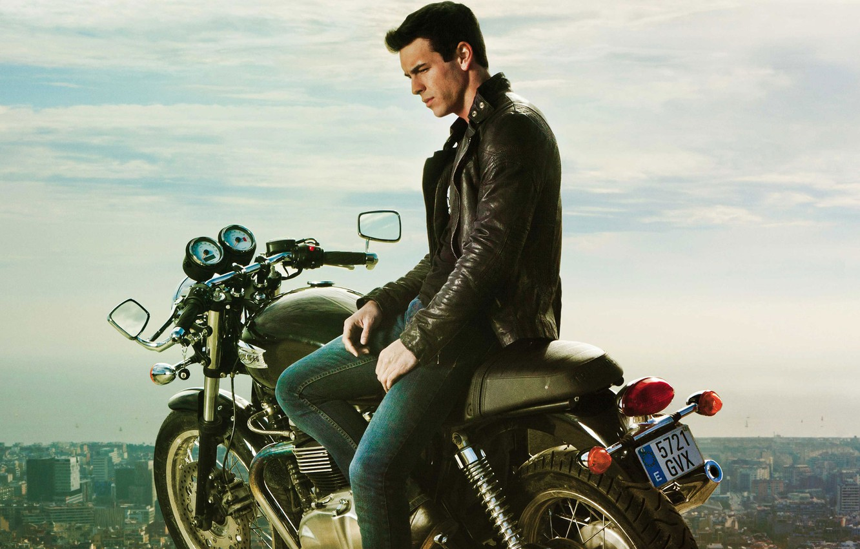 Photo wallpaper man, motorcycle, actor, Mario Casas, Mario Casas, Three meters above the sky, I want you, …