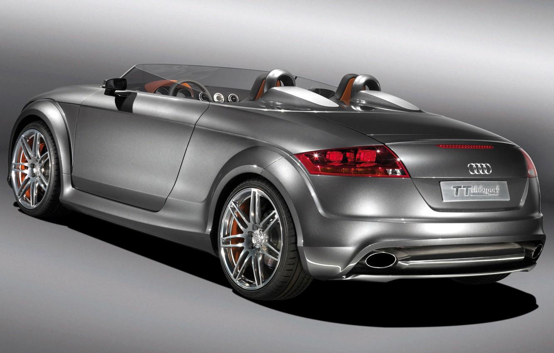 Photo wallpaper car, machine, auto, Audi TT