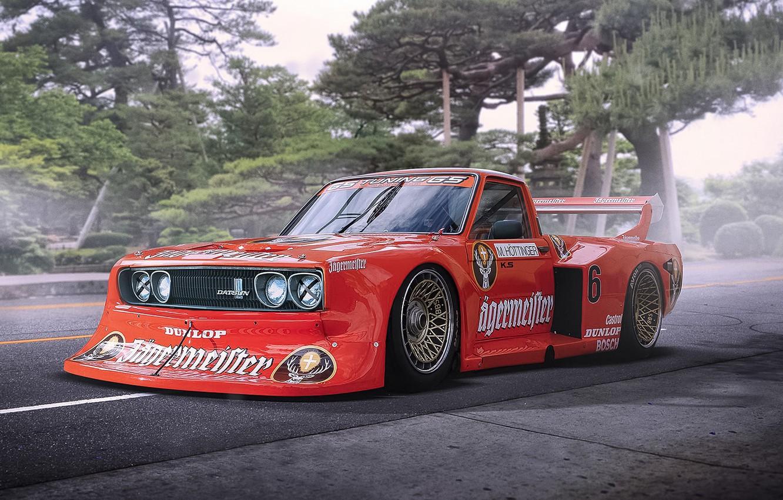 Photo wallpaper Car, Race, Datsun, Tuning, Future, by Khyzyl Saleem, 620