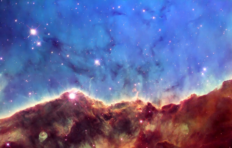 Photo wallpaper stars, nebula, photo, Hubble, the universe, telescope