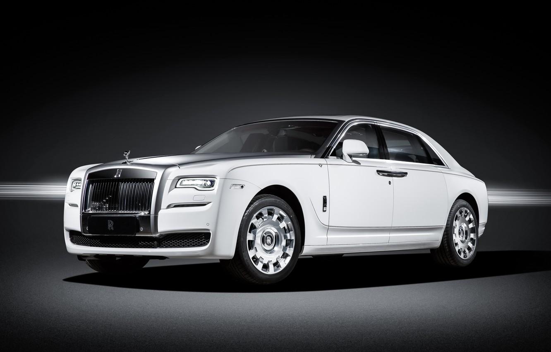 Photo wallpaper background, Rolls-Royce, Ghost, GOST, rolls-Royce