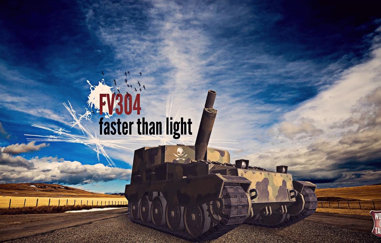Photo wallpaper world of tanks, wot, art, fv304