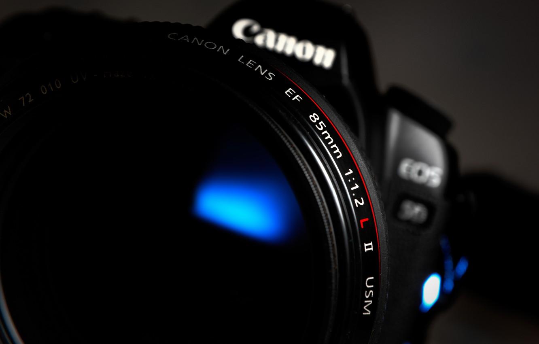 Photo wallpaper macro, camera, the camera, Canon