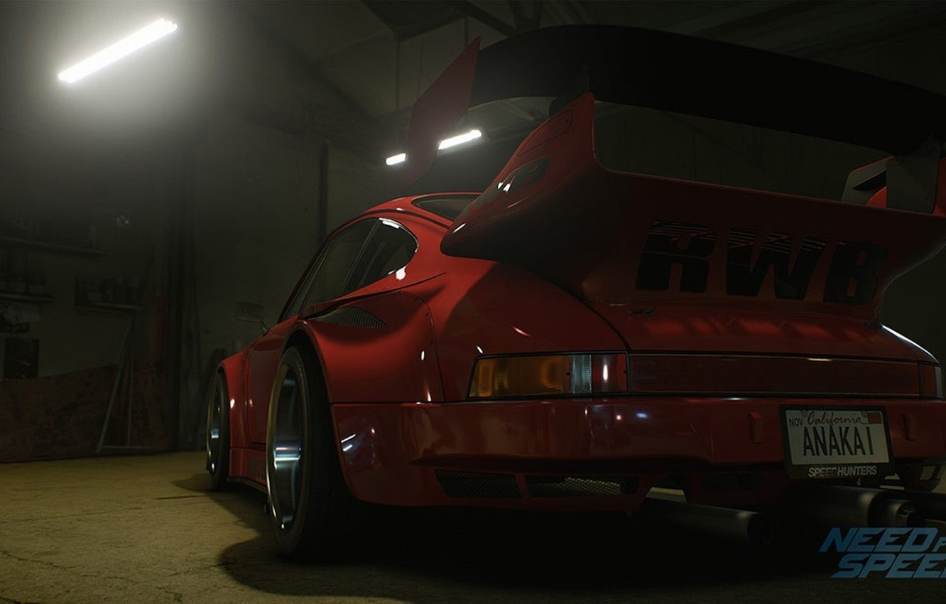 Photo wallpaper Porsche, nfs, 2015, NSF, 930, Need for Speed 2015, this autumn, RWB Porsche Stella Artois, …