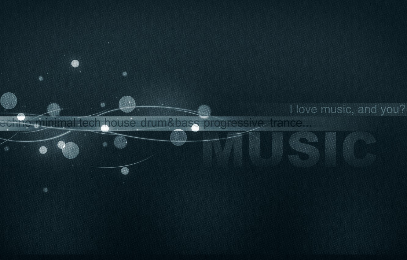 Wallpaper Minimal Music Techno Tech House Images For