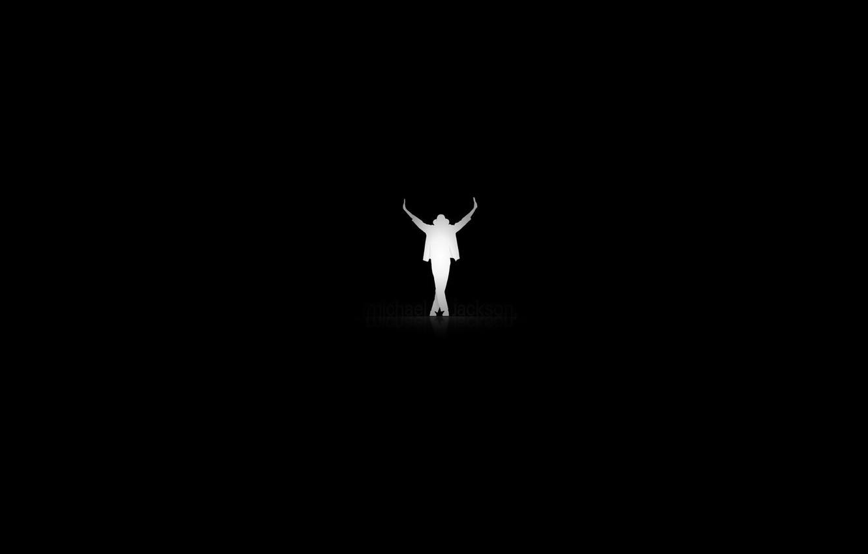 Photo wallpaper text, music, background, movement, black, silhouette, Michael Jackson, legend, Michael Jackson
