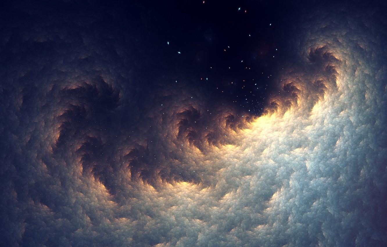 Photo wallpaper abstraction, art, fractal