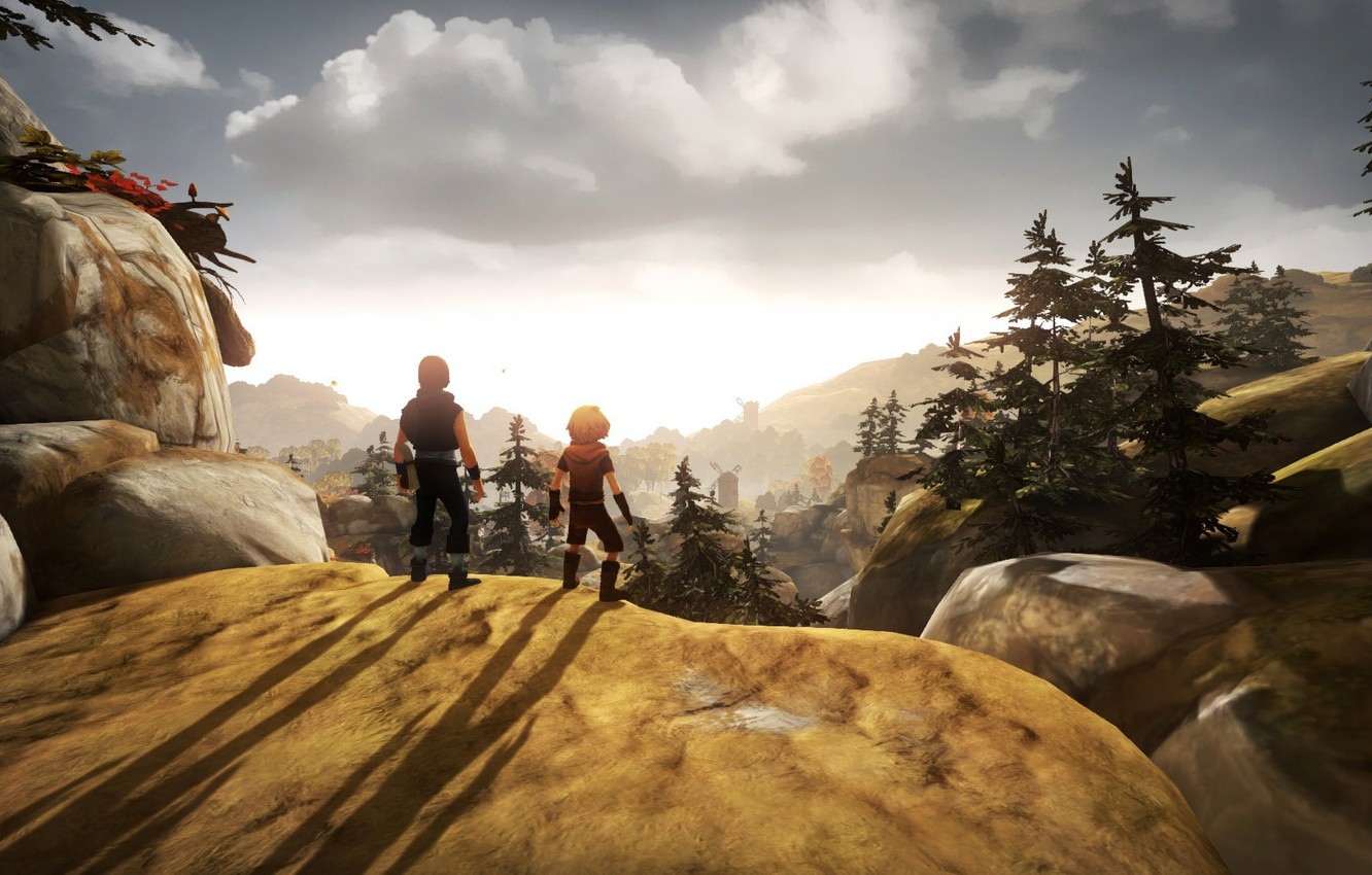 Wallpaper Landscape Adventure Brothers A Tale Of Two Sons Images