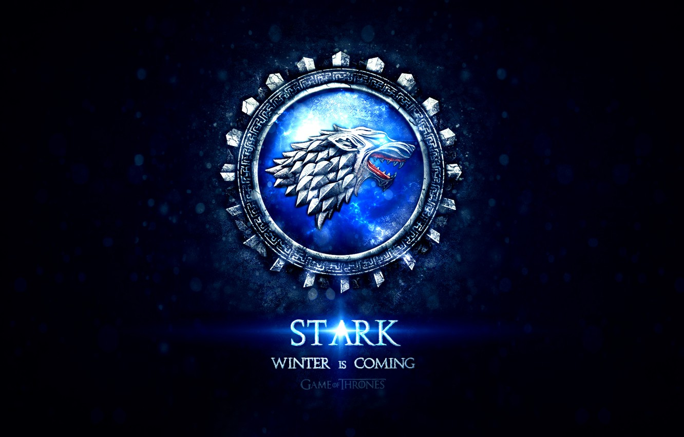 Wallpaper Wolf Game Of Thrones Song Of Ice And Fire Winter Is Coming Stark Heraldry Coat Of Arms Motto George Rr Martin Noble House Stark Images For Desktop Section Filmy Download