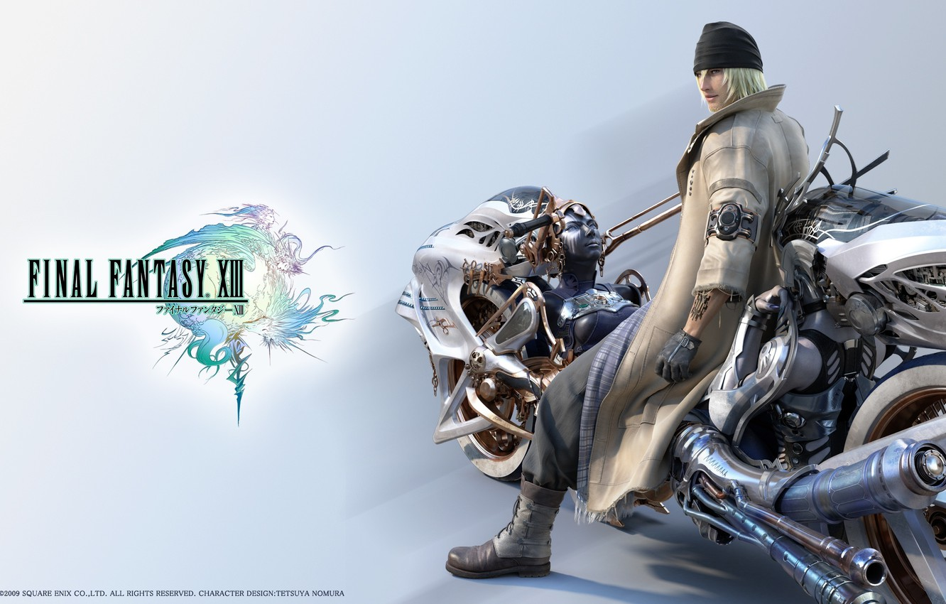 Wallpaper Final Fantasy Xiii Snow Twin Sisters Nix And Stretch