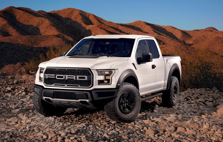 Photo wallpaper Ford, Ford, Raptor, pickup, Raptor, F-150