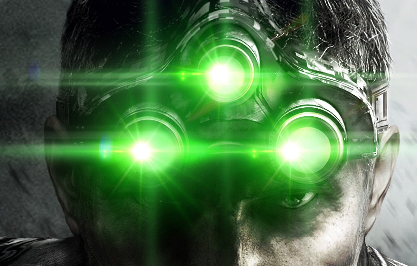 Wallpaper Glasses Blacklist Sam Fisher Splinter Cell