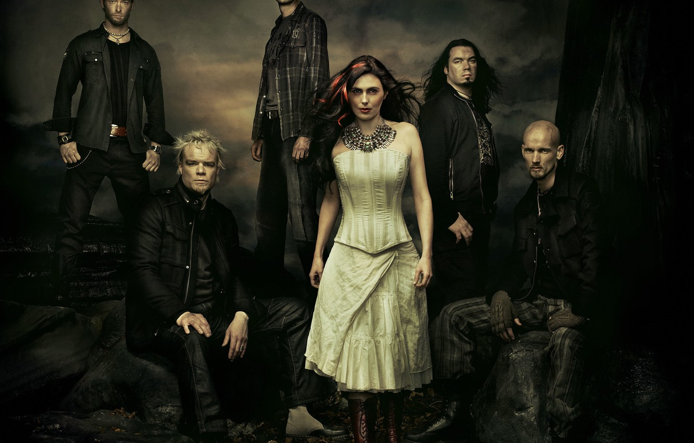 Wallpaper Metal Gothic Within Temptation Sharon Den Adel
