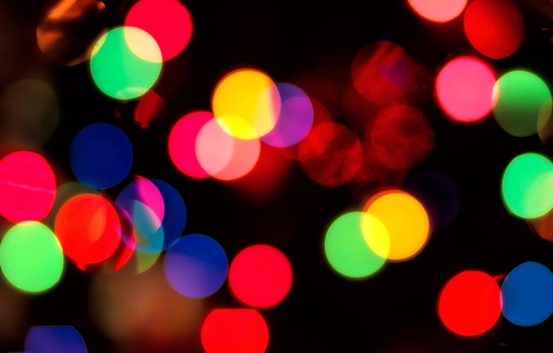 Photo wallpaper light, circles, background, color, circles