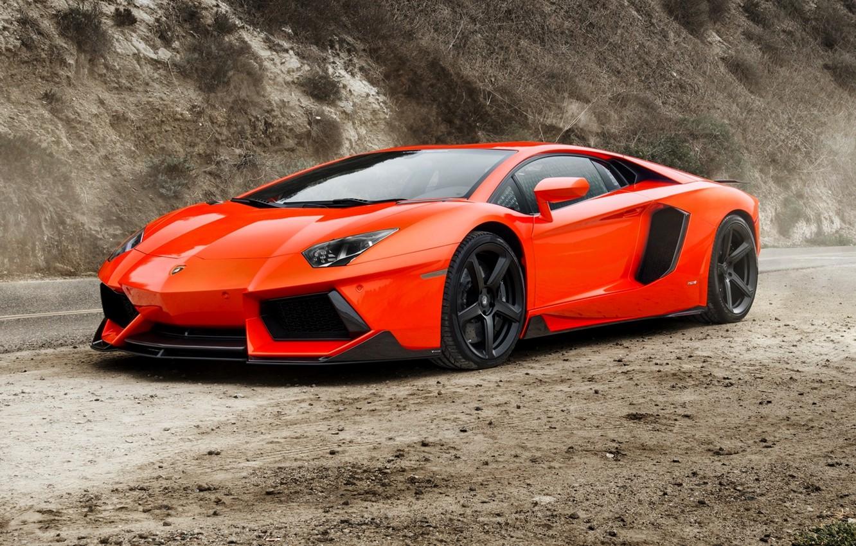 Photo wallpaper supercar, lamborghini, Lamborghini, coupe, roadster, aventador, aventador, lp-700-4, 2015