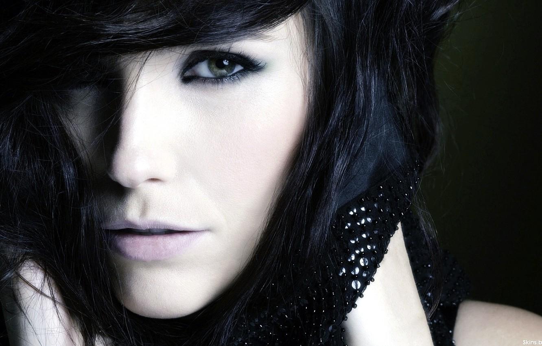 Photo wallpaper eyes, face, eyelashes, crystals, Sophia Bush