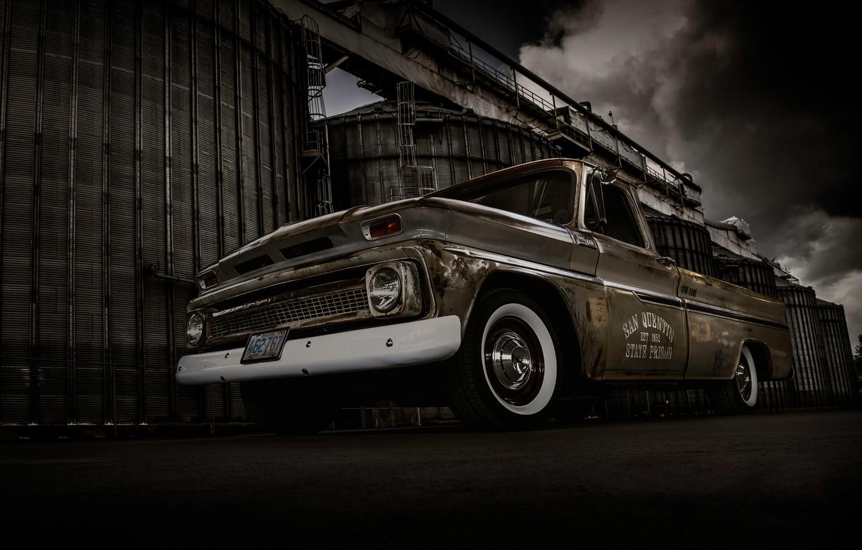 Photo wallpaper background, Chevrolet, Chevrolet, pickup, the front, Truck, Pickup