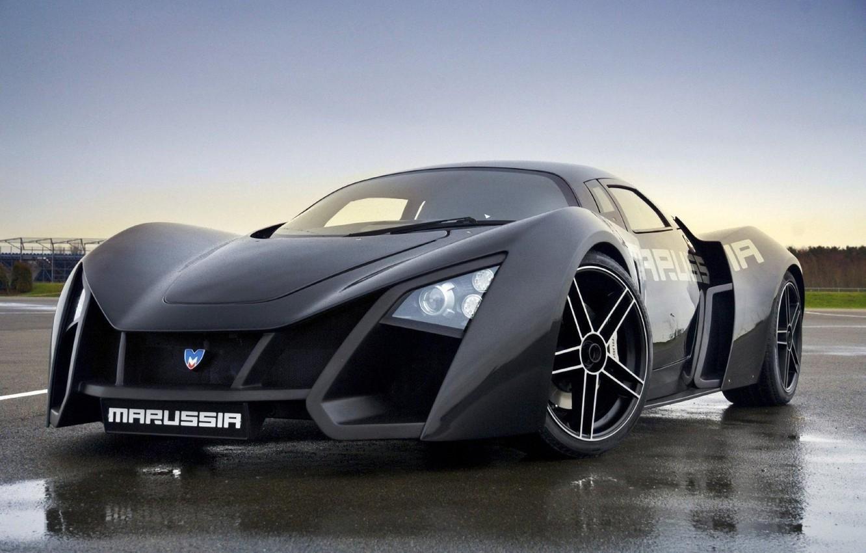 Photo wallpaper car, sport, Marussia