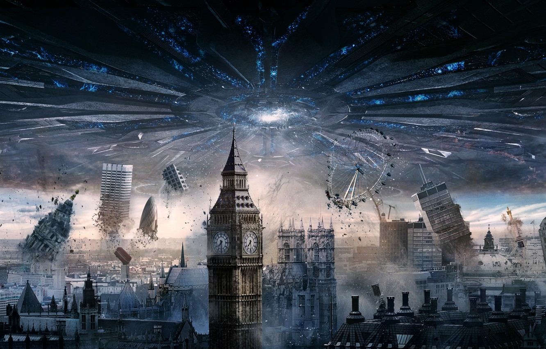 Wallpaper City Day Sam Aliens London England General London