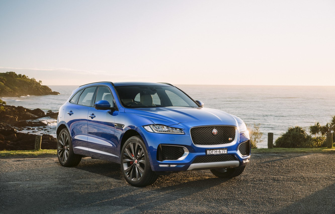 Photo wallpaper Jaguar, SUV, Jaguar, F-Pace