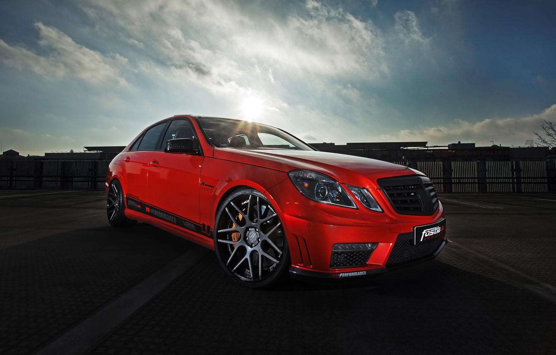 Photo wallpaper Mercedes-Benz, Mercedes, AMG, AMG, Benz, E 63, 2015, W212, Fostla