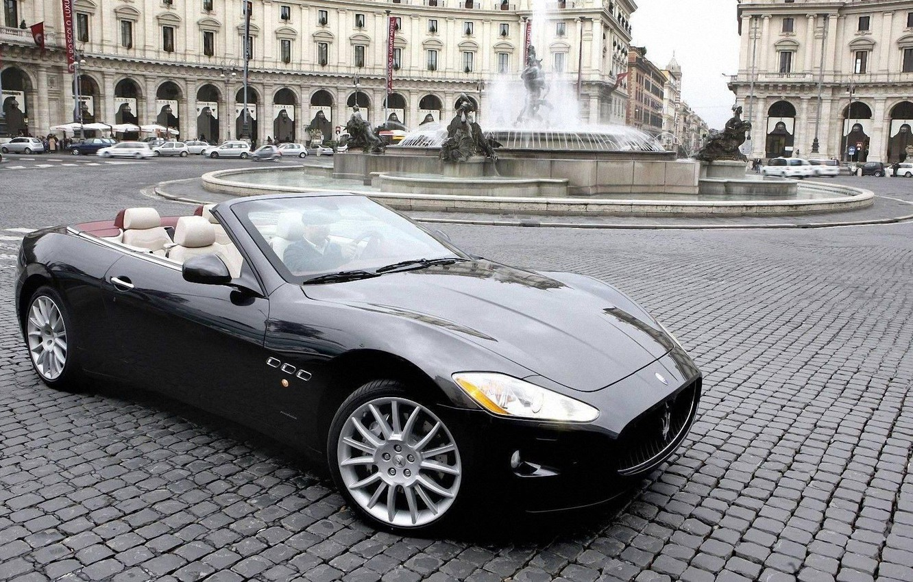 Photo wallpaper maserati, GranTurismo, Convertible, grancabrio