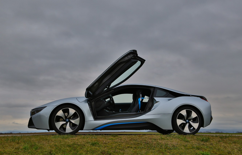 Photo wallpaper BMW, sports car, electric, BMW i8
