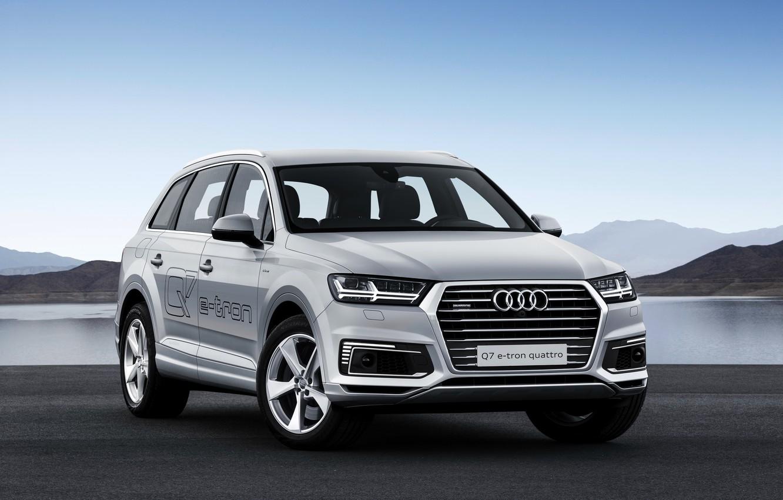 Photo wallpaper Audi, Audi, e-tron, quattro, TFSI, Quattro, 2015