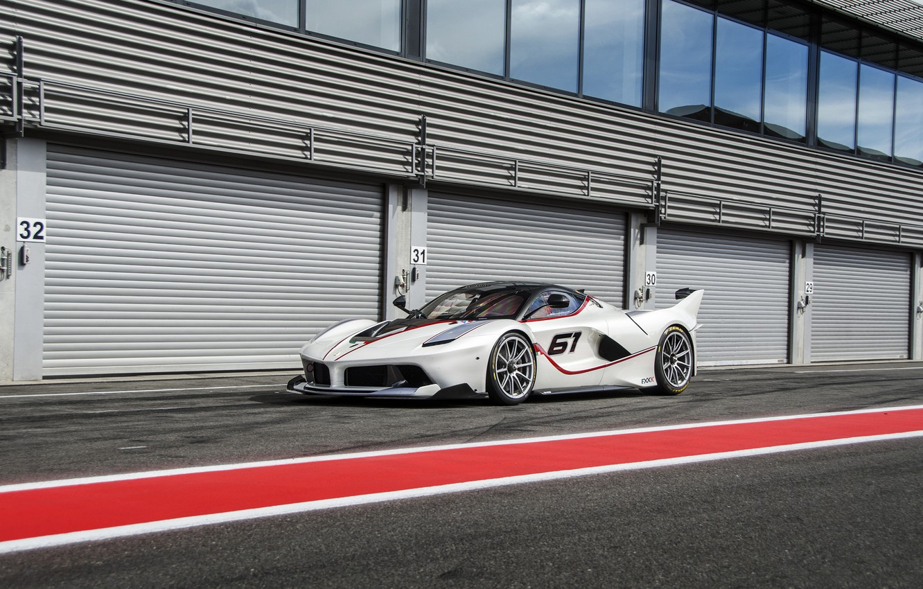 Wallpaper Ferrari White Track Fxxk Images For Desktop Section Ferrari Download