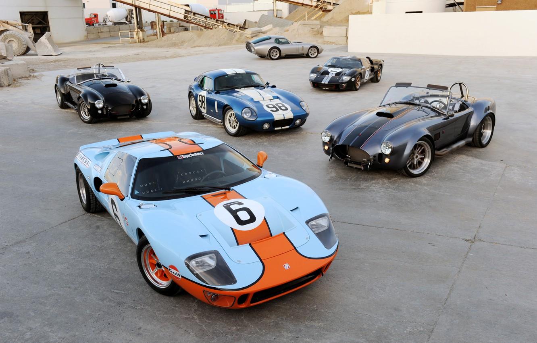 Photo wallpaper Ford, Shelby, Ford, Shelby, Coupe, Cobra, Daytona, Superformance, 2014